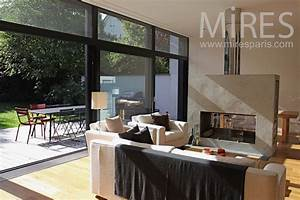 ile de france mires paris With deco design jardin terrasse 17 grand salon moderne c0535 mires paris