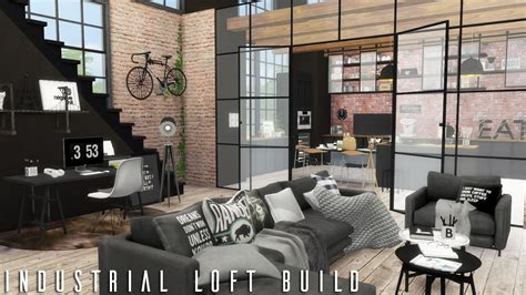Small Dining Room Decorating Ideas - the sims 4 industrial loft cc links build youtube