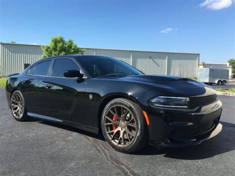 2C3CDXL97GH232836   2016 Dodge Charger SRT Hellcat. Black