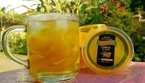 travelingyukcom manisan carica camilan seger khas