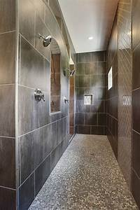 10 walk in shower designs to upgrade your bathroom for Longueur douche italienne sans porte
