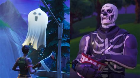 fortnite map    halloween makeover  skull