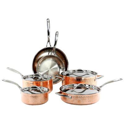 copper cookware sets youll love wayfair