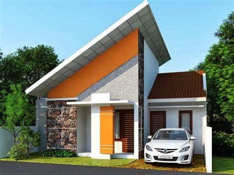 desain rumah mungil unik  cantik sebagai inspirasi