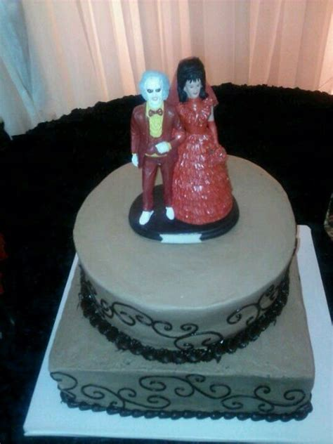beetlejuice themed birthday wedding cakes  world