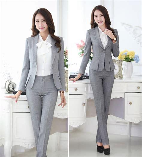 mulheres calcas terno preto cinza ladies carreira formal