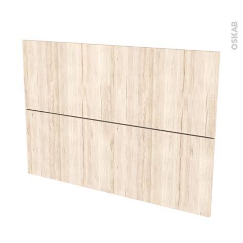 facade cuisine chene façades de cuisine 2 tiroirs n 61 ikoro chêne clair l100 x