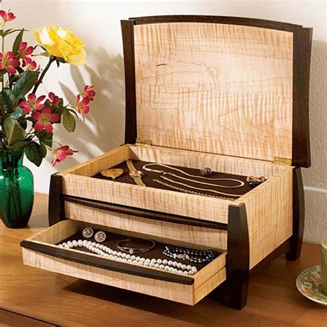 A Gem Of A Jewelry Box Woodworking Plan From Wood Magazine