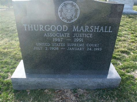 thurgood marshall grave photo