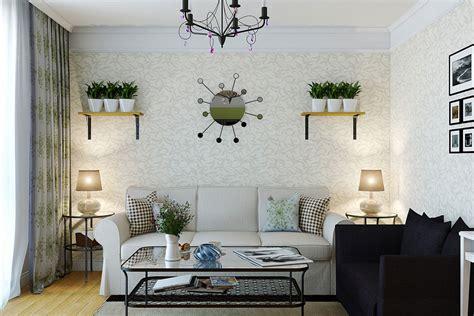 hiasan dinding ruang tamu minimalis renovasi rumahnet