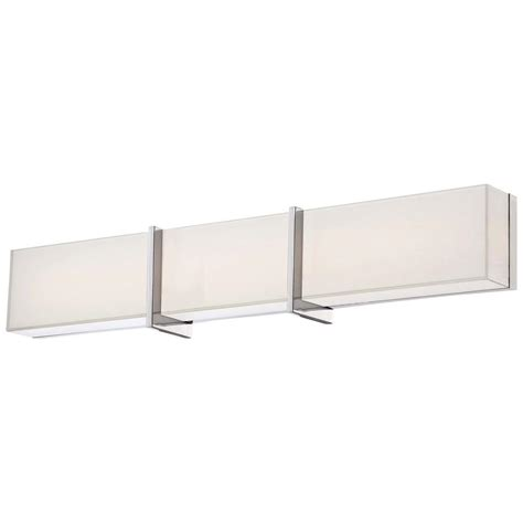 minka lavery high rise led bath chrome vanity light 2923 77 l the home depot