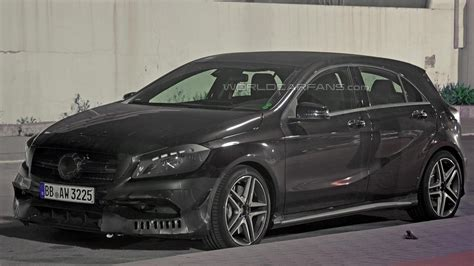 Great savings & free delivery / collection on many items. Mercedes-Benz A45 AMG facelift spied inside and out (24 pics)