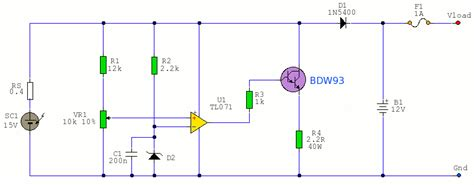 Circuit Diagram Electronic Circuits Projects Solar