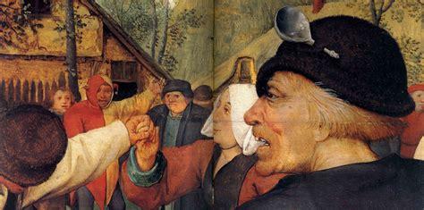 pieter bruegel  elder  peasant dance detail