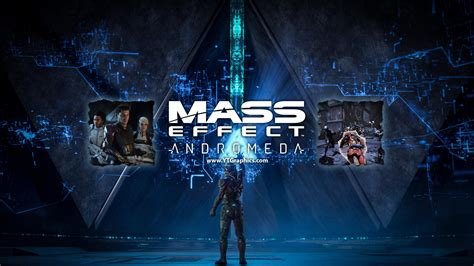 mass effect andromeda youtube channel art banner