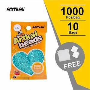 10 Bags C 2 6mm 1000 Count Pack Cb1000 10 Artkal Beads