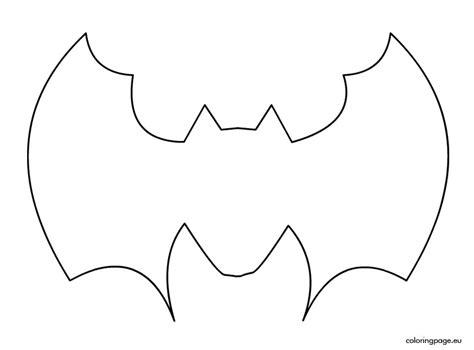bat template bat drawing templates for