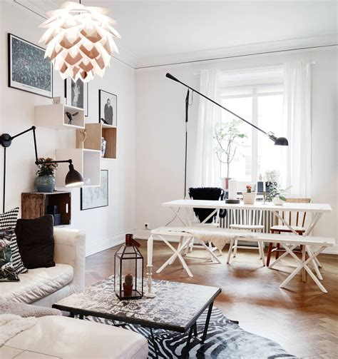 Living room with different angles and lines Modern