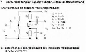 Emitterschaltung Berechnen : emitterschaltung berechnen ~ Themetempest.com Abrechnung