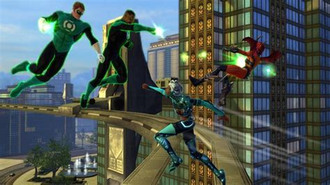 green lantern officially coming to dc universe gaming nexus