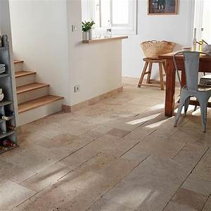 carrelage sol et mur beige opus 4 formats romain With carrelage castorama sol