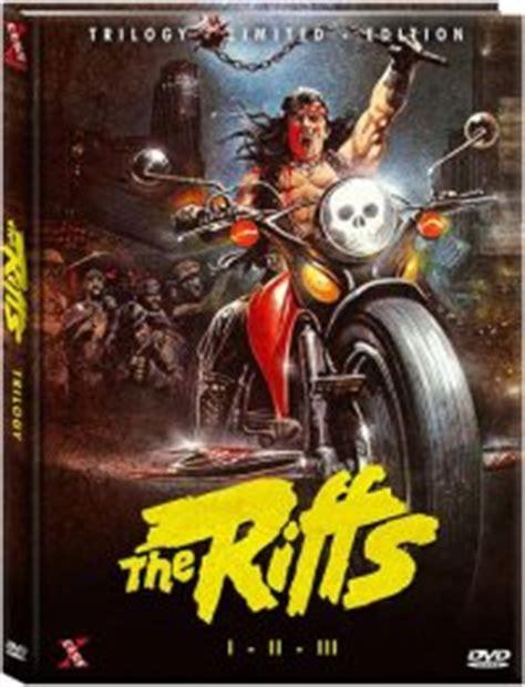 The Riffs Trilogy DVD (Bronx Warriors Trilogy Mediabook LE ...