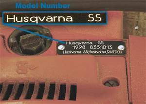 Husqvarna Serial Number Lookup Chainsaw