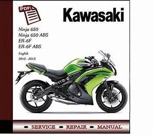 Kawasaki Ninja 650 Er-6f 2012