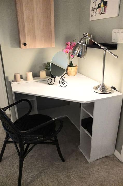 corner vanity desk best 25 corner desk ideas on corner office