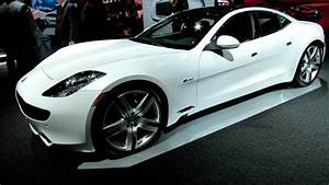 2012 Fisker Karma Ev Exterior And Interior At 2012 New York International Auto Show