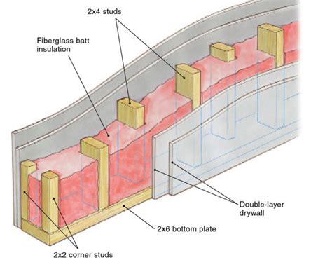 building soundproof walls fine homebuilding