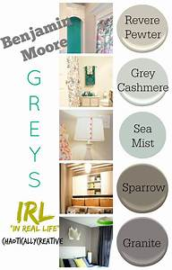 Grey Paint Colors: In Real Life - Chaotically Creative