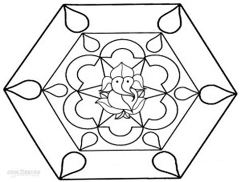 printable rangoli coloring pages  kids coolbkids