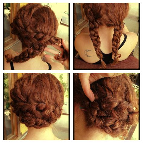 15 best of quick easy updo hairstyles for thick hair
