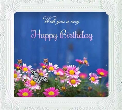 colorful birthday wishes  flowers  birthday wishes ecards