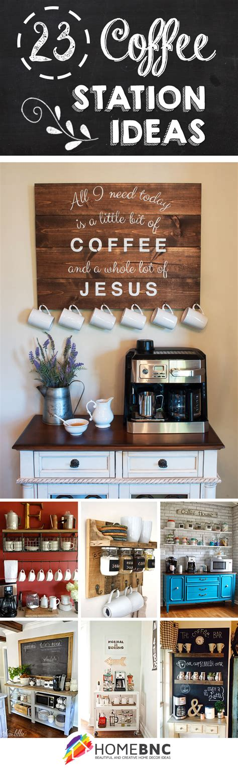 Here's how to create your own 23 Best Coffee Station Ideas and Designs for 2020