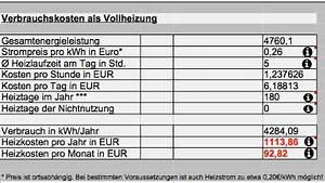 Stromkosten Gerät Berechnen : infrarotheizung verbrauch f r strom und kosten berechnen ~ Themetempest.com Abrechnung