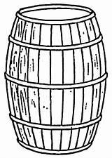 Barril Colorear Dibujo Descargar Grandes Imagenes sketch template