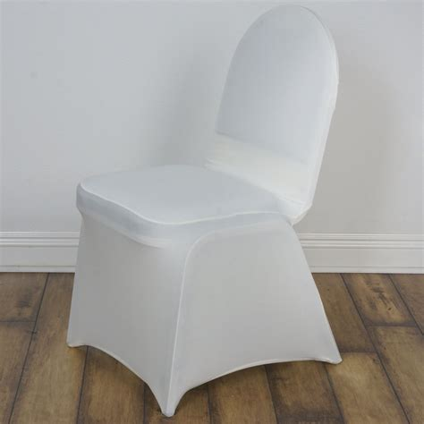 ivory madrid banquet chair covers efavormart