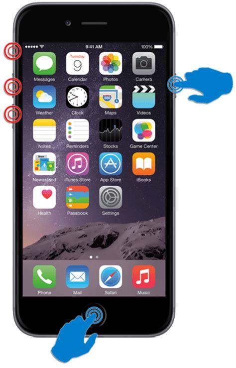 iphone iphone hacer captura de pantalla