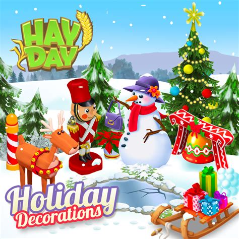 the 2015 hay day decorations available