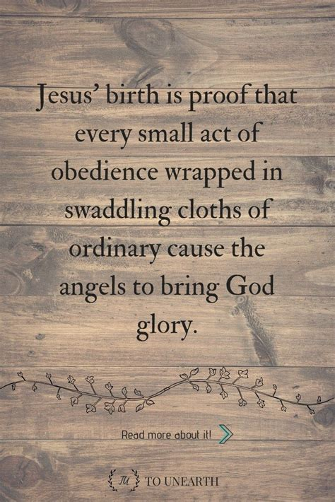 Jesus' birth reminds us ordinary and mundane routines can ...