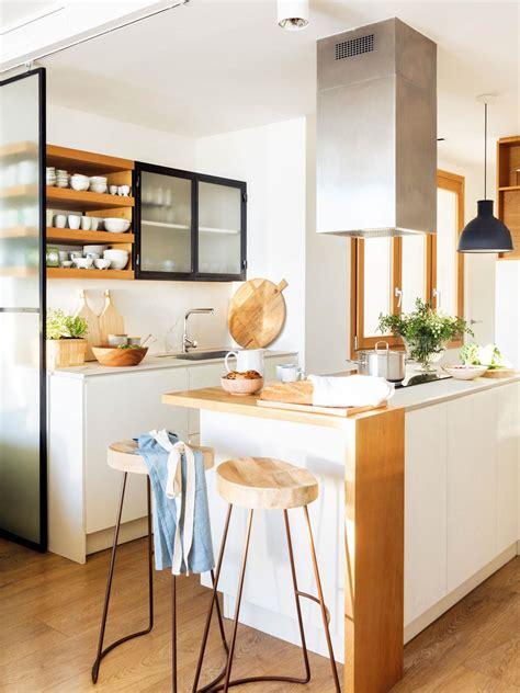 cocinas pequenas ideas decorativas  aprovecharlas