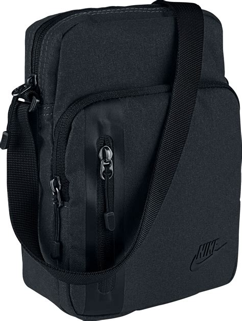nike small items shoulder bag black
