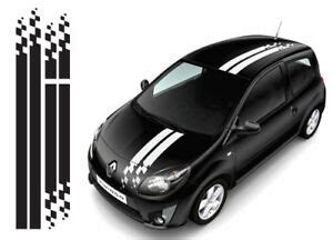 renault twingo 015 ott racing stripes stickers fit clio megane decals graphics ebay