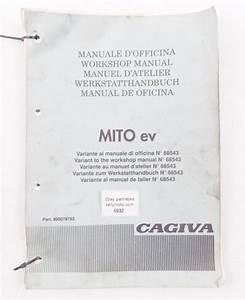 Cagiva Mito Ev Workshop Manual Repair Service Italian