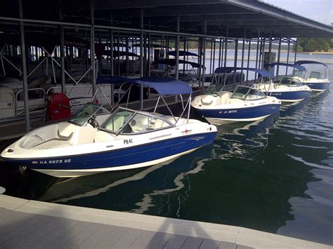 Fishing Boat Rental Lake Lanier Ga by Boat Rentals On Lake Allatoona At Lake Allatoona