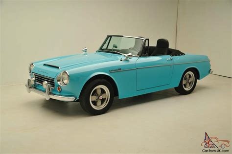 Datsun 1600 Roadster Parts by 1967 Datsun Roadster 1600 Fairlady