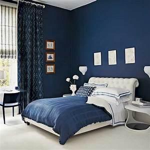15, beautiful, dark, blue, wall, design, ideas