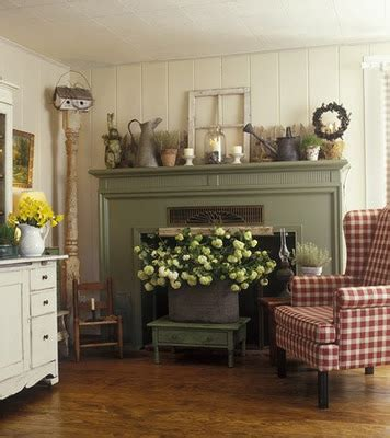 country mantel decorating ideas delorme designs gingham part 2